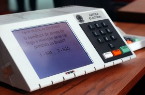 Electronic voting machine by Premier Election Solutions